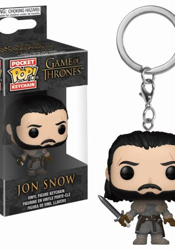 Pocket Pop Keychain: Game of Thrones - Jon Snow Beyond the Wall