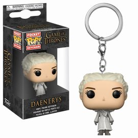 FUNKO Pocket Pop Keychain: Game of Thrones - Daenerys White Coat
