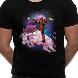 CID Deadpool - Unicorn UNISEX T-SHIRT - BLACK