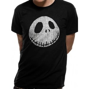 Nightmare Before Christmas - Jack Cracked Face T-shirt