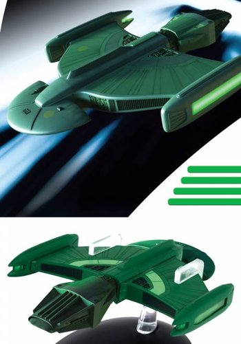 Star Trek Starships: Nr 123 Romulan Science Vessel