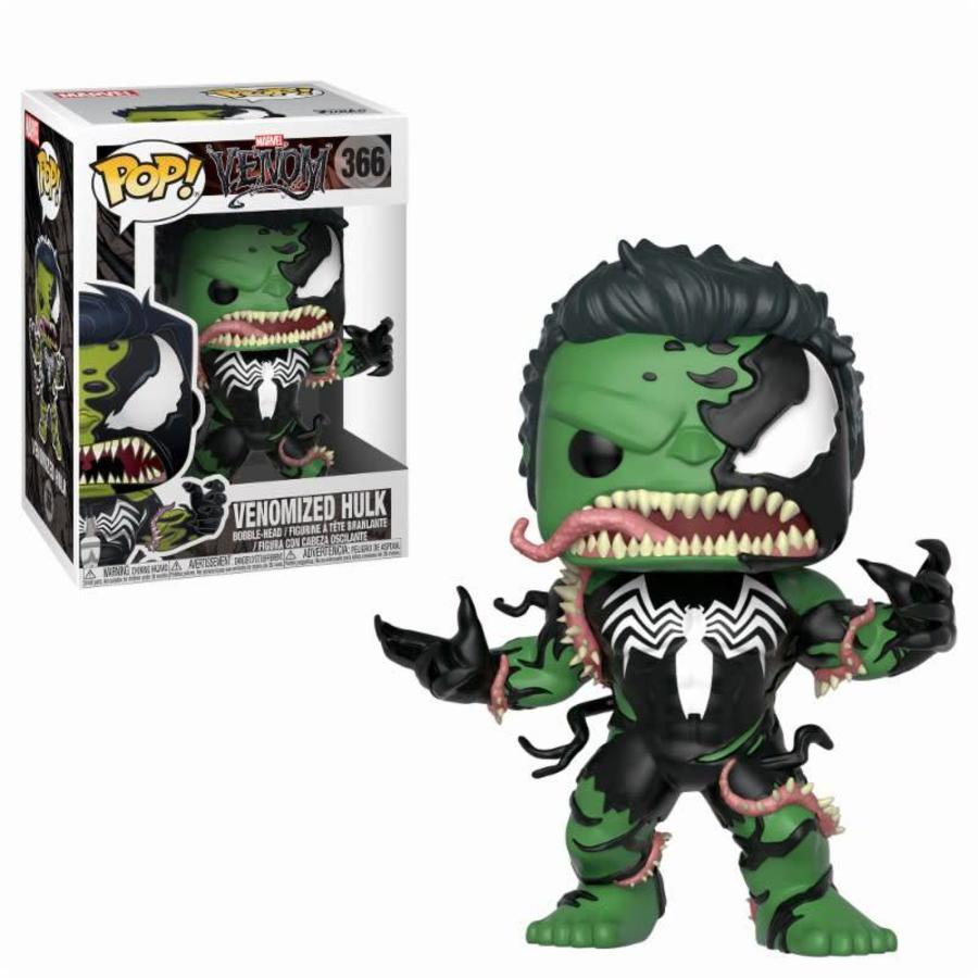 Pop! Marvel: Venom - Venom/The Hulk