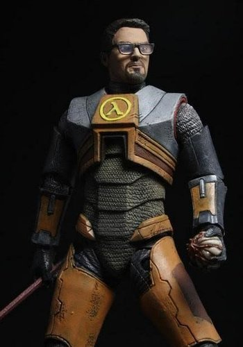Half Life: Gordon Freeman 7 inch Action Figure