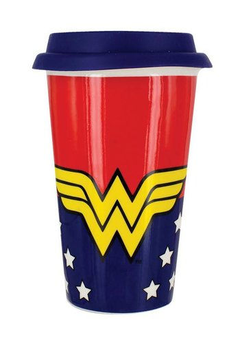DC Comics: Wonder Woman Travel Mug