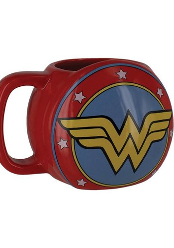 DC Comics: Wonder Woman Shield Mug