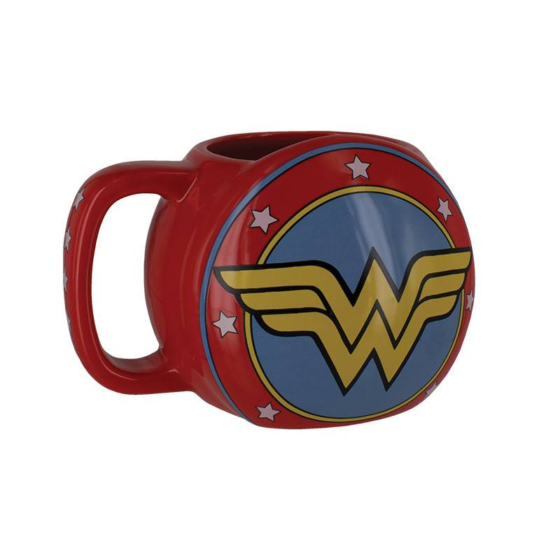 Paladone DC Comics: Wonder Woman Shield Mug