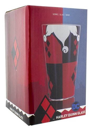 DC Comics: Harley Quinn Glass
