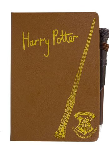 Harry Potter: Notebook and Wand Pen
