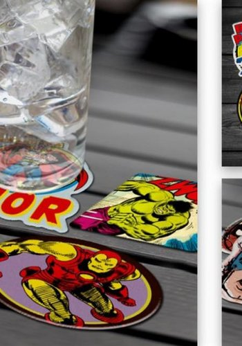 Marvel: Character Coasters