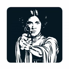 STAR WARS COASTER - LEIA