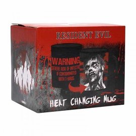 Geen RESIDENT EVIL HEAT CHANGING MUG - INFECTED