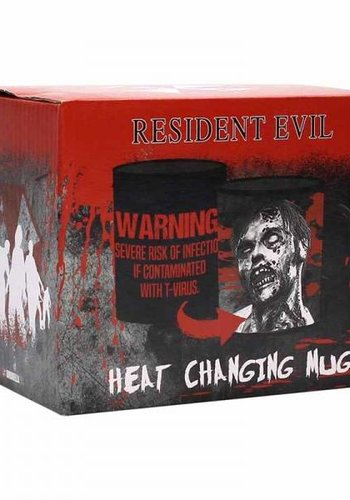 RESIDENT EVIL HEAT CHANGING MUG - INFECTED