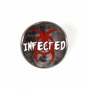 RESIDENT EVIL ENAMEL BADGE - INFECTED