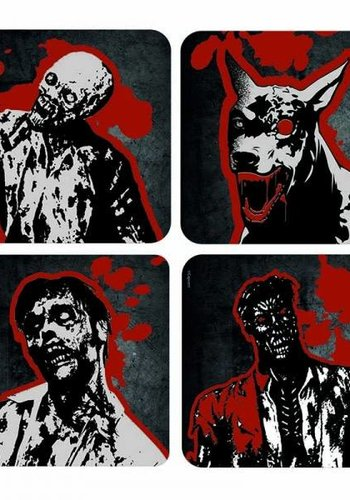 RESIDENT EVIL LENTICULAR COASTERS (SET OF 4)
