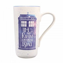 Half Moon  Bay DOCTOR WHO LATTE MUG - GALAXY