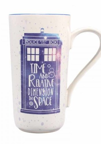 DOCTOR WHO LATTE MUG - GALAXY