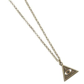 The Carat Shop FANTASTIC BEASTS TRIANGLE EYE NECKLACE
