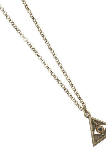 FANTASTIC BEASTS TRIANGLE EYE NECKLACE