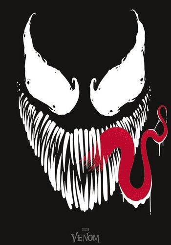 Marvel: Venom Face 90 x 61 cm Poster