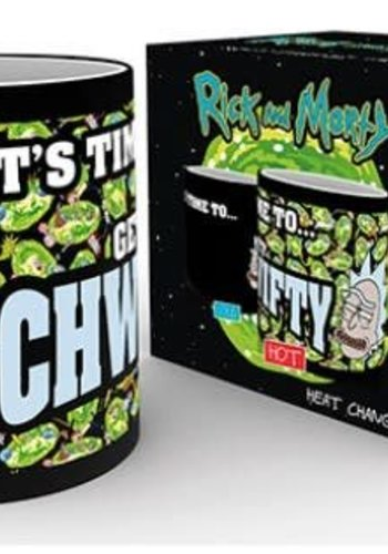 Rick and Morty: Get Schwifty Heat Change Mug