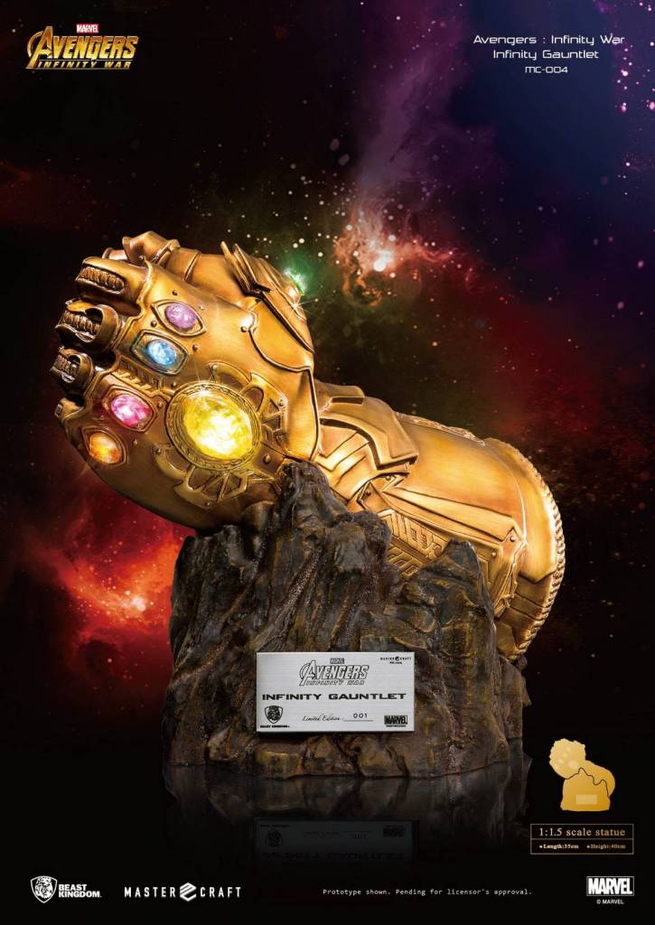Beast Kingdom Marvel: Infinity War - Infinity Gauntlet