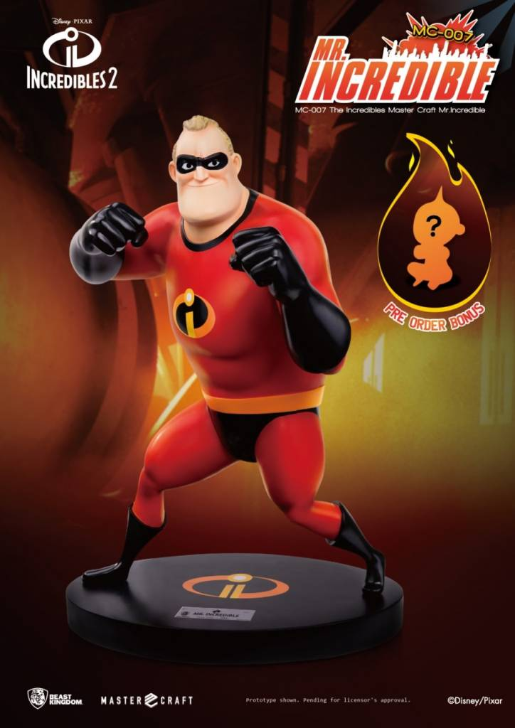 Beast Kingdom Disney: The Incredibles - Mr. Incredible Statue