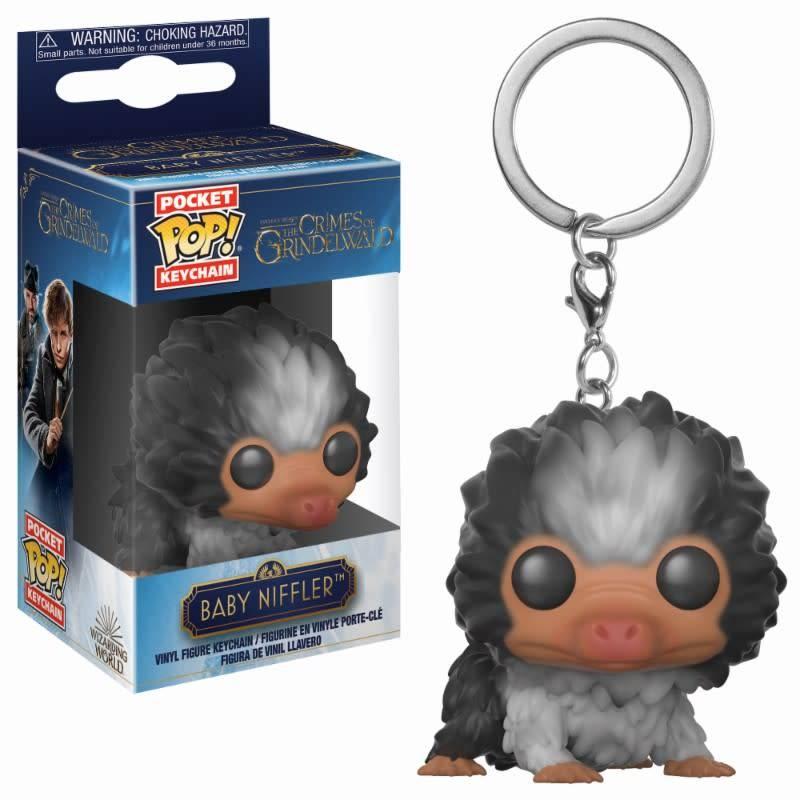 FUNKO Pocket Pop Keychain: Fantastic Beasts 2 - Black White Baby Niffler