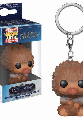Pocket Pop Keychain: Fantastic Beasts 2 - Tan Baby Niffler