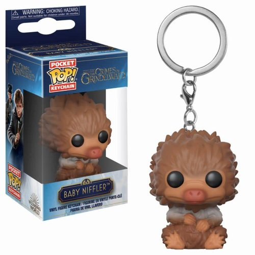 FUNKO Pocket Pop Keychain: Fantastic Beasts 2 - Tan Baby Niffler