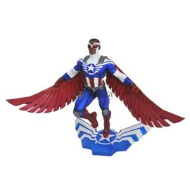 DIAMOND SELECT TOYS Marvel - Gallery - Captain America - Sam Wilson PVC Figure