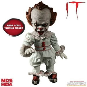 Mezcotoys IT: Mega Scale Talking Pennywise Action Figure