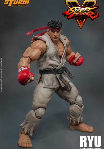 Street Fighter V: Ryu 1:12 Scale Figure