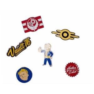 Bioworld Fallout 76: Set of 6 Metal Pins