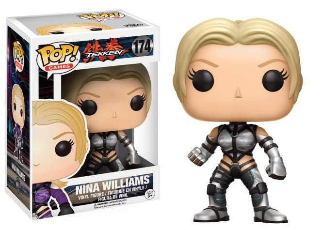 FUNKO Pop! Games: Tekken - Nina Williams Silver Suit LE
