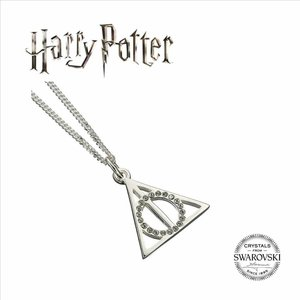 The Carat Shop HARRY POTTER EMBELLISHED WITH SWAROVSKI® CRYSTALS DEATHLY HALLOWS NECKLACE