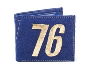 Bioworld Fallout: Vault 76 Vintage Denim Bifold Wallet
