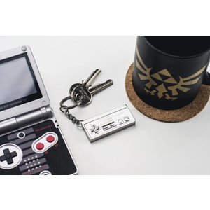 Paladone Nintendo: NES 3D Metal Keychain