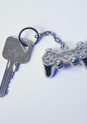 Playstation: 3D Metal Keychain