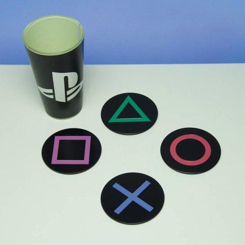 Paladone Playstation: Metal Coasters