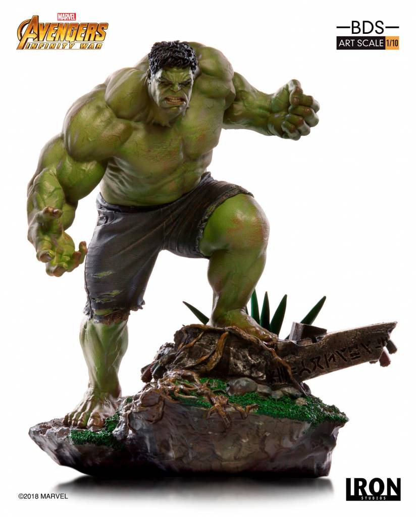 Iron Studios Marvel: Avengers Infinity Wars - The Hulk 1:10 Scale Statue