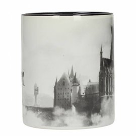 SD Toys Harry Potter: Hogwarts Castle Black and White Mug