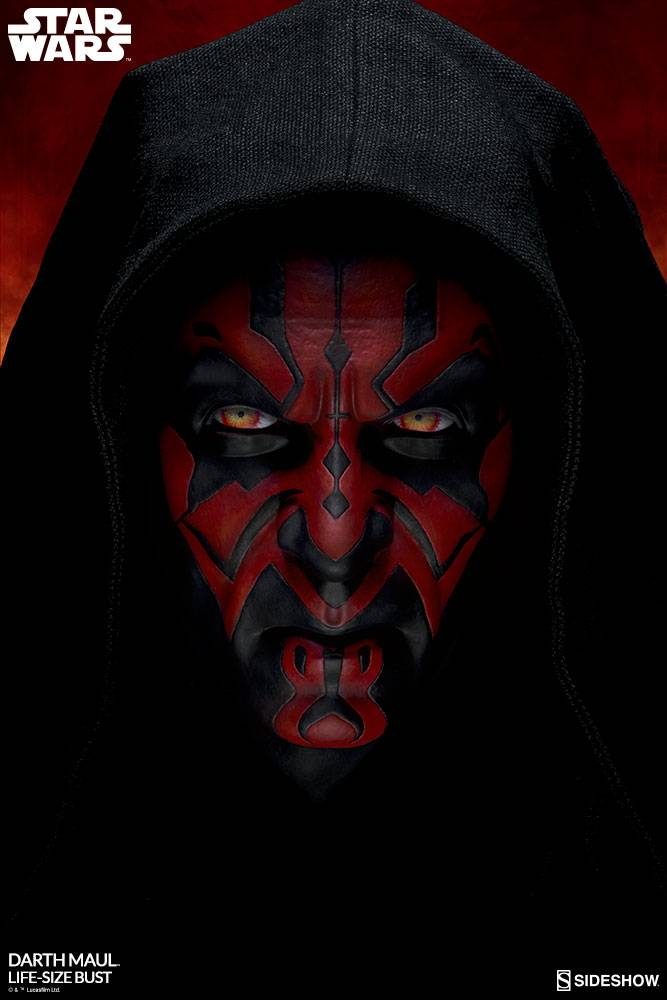 Sideshow Toys Star Wars: Darth Maul Life Sized Bust