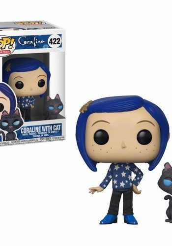 Pop! Movies: Coraline - Coraline with Cat Buddy