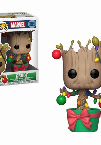 Pop! Marvel: Holiday Groot with Lights and Ornaments