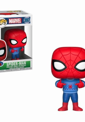 Pop! Marvel: Holiday Spider-Man with Ugly Sweater