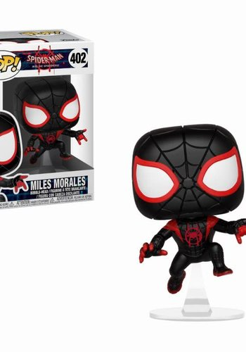 Pop! Marvel: Animated Spider-Man - Black Suit Miles Morales