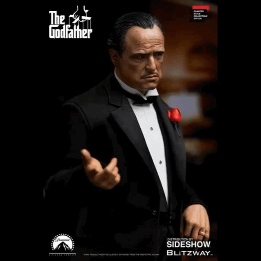 The Godfather: Vito Corleone 1:4 Scale Statue