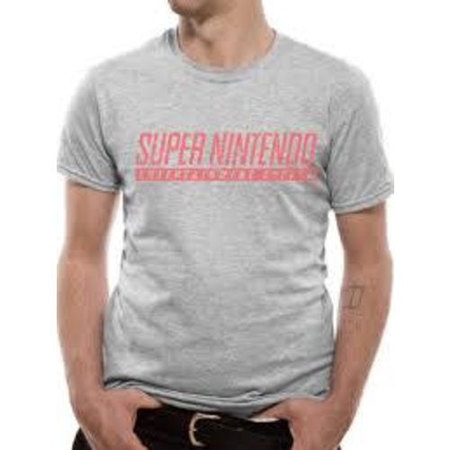CID NINTENDO - SNES T-Shirt LIGHT GREY