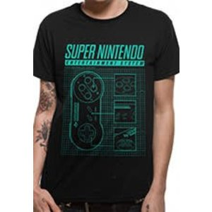CID Nintendo - Super Nintendo Ent System Shirt