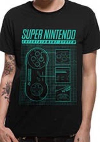 Nintendo - Super Nintendo Ent System Shirt